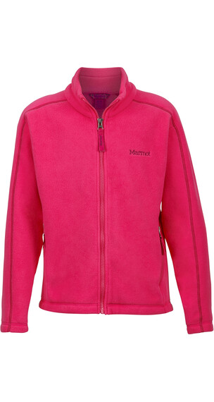 Marmot Girls Lassen Fleece Gypsy Pink